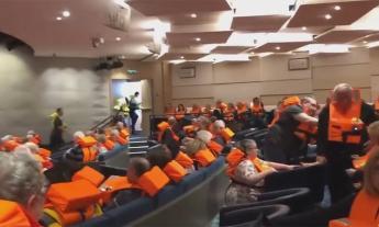 Avaria in Norvegia: le drammatiche immagini della nave costruita nelle Marche. FOTO E VIDEO