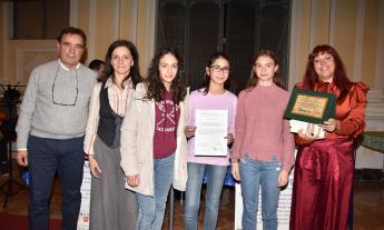 """""""La rinascita attraverso l'arte"""", premiato l'Istituto Comprensivo 'Tortoreto' di San Ginesio"""
