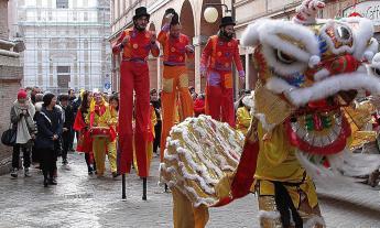 Capodanno cinese a Macerata: si festeggia l'anno del Topo