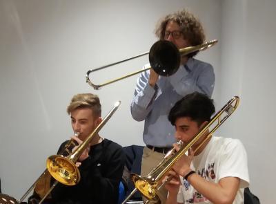 """Tolentino Jazz, la """"lezione"""" di Massimo Morganti"""