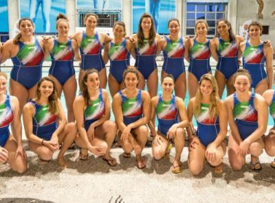 Nuoto: le atlete della nazionale femminile si allenano alla piscina comunale di San Severino