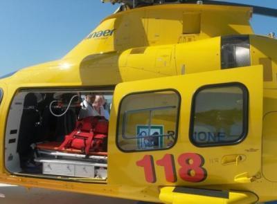 Cade durante un'escursione sul monte Vettore: soccorsa con l'elicottero