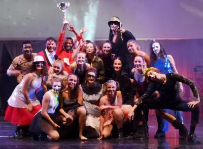 Ritmosfera vince la coppa Italia del performer di arti scenico-sportive a Cinecittà World