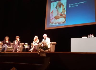 Teatro Lauro Rossi esaurito a Macerata per la conferenza del Prof. Franco Berrino