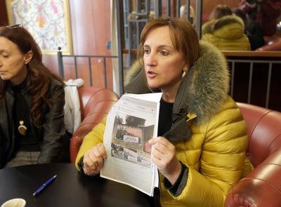 "Macerata, Deborah Pantana: ""Sabato manifestazione per la chiusura del Centro Sociale Sisma"" (FOTO)"