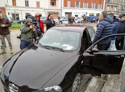 Traini, il fratello mette in vendita l'auto utilizzata per il raid razzista nelle vie di di Macerata