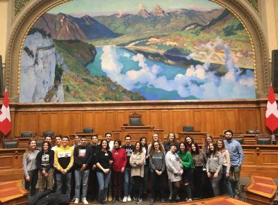 """11 studenti e due docenti svizzeri a Corridonia con """"Intercultura"""" (FOTO)"""