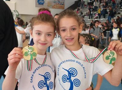 Ginnastica Artistica Recanati, grandi risultati al Campionato Gold Allieve