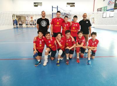 La Paoloni Macerata Under 13 6×6 chiude la stagione con un meraviglioso quarto posto regionale