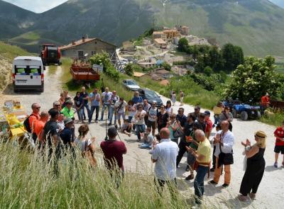 Riattivata la webcam di Castelluccio di Norcia (FOTO)