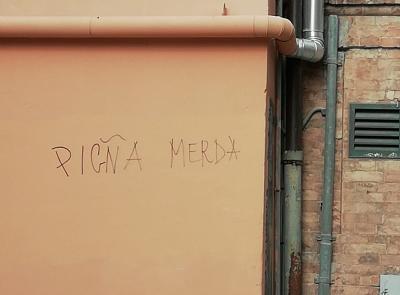 Macerata, nuove scritte contro il questore Antonio Pignataro
