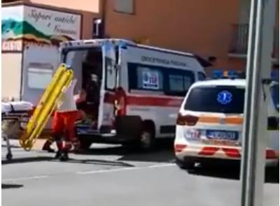 San Ginesio, scontro tra due auto: due feriti, allertata l'eliambulanza (VIDEO)