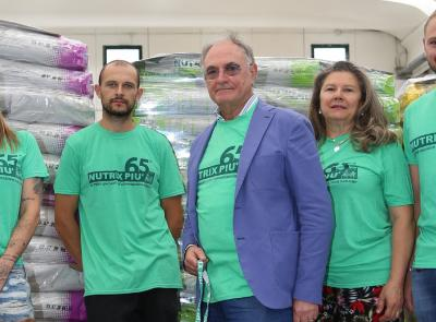 Castelraimondo, Nutrix Più dona 100 mila pasti omaggio ai cani abbandonati