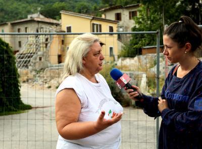 """""""2016-2019, Tre anni dopo"""". Ussita, Orazi: """"La comunità ha bisogno di tornare a lavorare in questi territori"""" (FOTO E VIDEO)"""