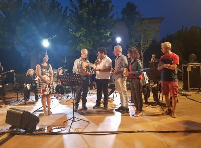 La Fisiorchestra Marchigiana suona a Colmurano e fa il pieno di spettatori
