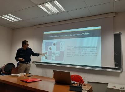 """Il Liceo matematico """"Filelfo"""" di Tolentino a Salerno per un importante seminario"""