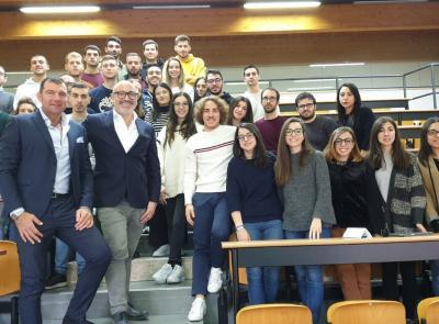 Elitron sale in cattedra: lezione all'Università Politecnica delle Marche
