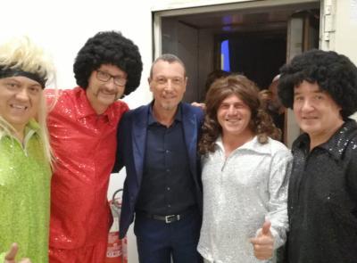 Da Castelraimondo a Rai Uno: incontro in tv tra i Cugini di Campagna veri e quelli finti