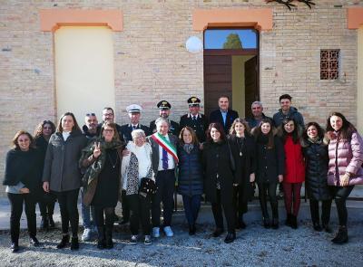 Tolentino, consegnati i quattro nuovi appartamenti  in contrada Sant'Angelo (FOTO)