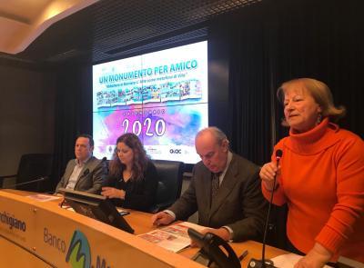 """Civitanova, un calendario per ricordare che abbattere le barriere si può con il progetto """"Monumento per amico"""""""