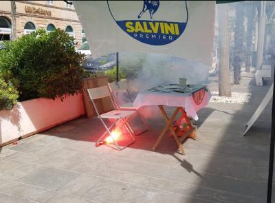 Civitanova, chiuse le indagini del 46enne che lanciò un fumogeno contro gazebo Lega