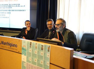 """Civitanova, convegno """"Noi Marche"""": il turismo corre sulle due ruote"""