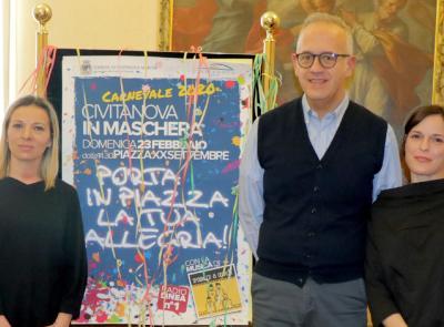 Civitanova in maschera, tutto pronto per il Carnevale: svelato il programma