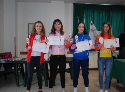 Civitanova, Trofeo Rosa Interregionale: premiate le migliori protagoniste del ciclismo giovanile femminile