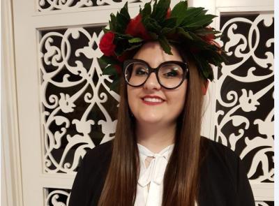 Macerata, la laurea ai tempi del Covid-19: Maria Caterina Grassetti diventa dottoressa dalla propria abitazione