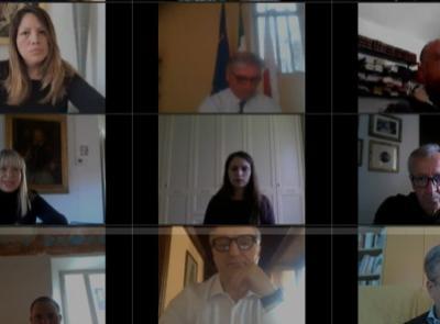 San Severino, Consiglio comunale in streaming: un minuto di silenzio per le vittime del Coronavirus