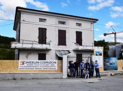 Caldarola, la rinascita di una famiglia: dopo 4 anni la casa danneggiata dal sisma sarà ricostruita