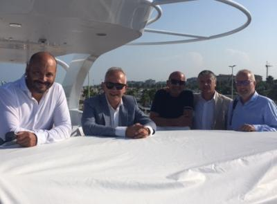 """Mega yacht attracca a Civitanova, Ciarapica: """"Il porto è un volano per l'economia della città"""""""