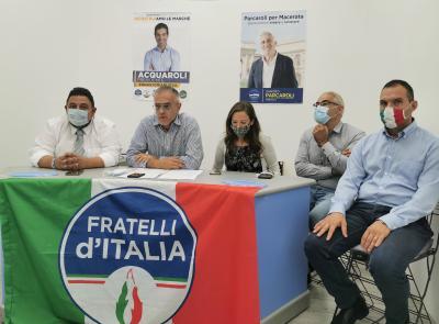 """Macerata, Fratelli d'Italia in festa: """"Voti triplicati rispetto a 5 anni fa"""" (VIDEO)"""