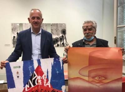 """Civitanova, via il velo sulla mostra """"Folon Manifesti"""": taglio del nastro sabato 3 ottobre nella città alta"""