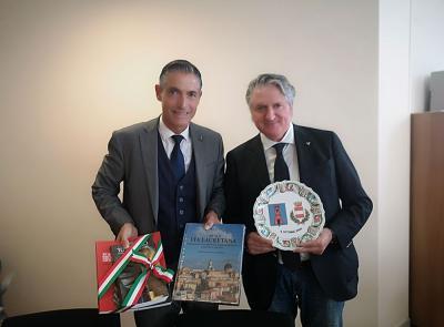 Tolentino guarda a San Marino: gemellaggio con il Castello di Serravalle