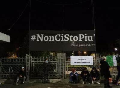 """Civitanova- continua la protesta in piazza, operatori dello sport e palestre: """"le nostre voci contano"""" (FOTO)"""