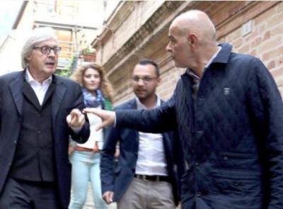 Vittorio Sgarbi denuncia il presidente della Camera Fico e il vice presidente Spadoni