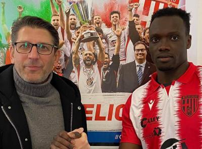 Colpo a centrocampo per il Matelica: preso Mbaye dal Novara
