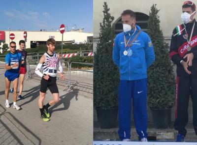 Marcia, Michele Antonelli secondo ai Campionati Italiani: Olimpiadi di Tokyo più vicine