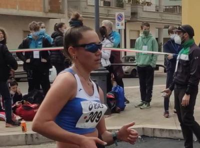 Cus Macerata in festa, Giulia Miconi conquista il bronzo ai campionati italiani di marcia