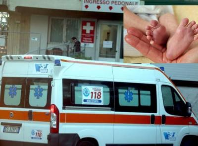 Castelraimondo, bimbo scalpita per venire alla luce: parto in ambulanza
