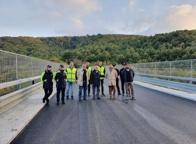 Cingoli, riaperto il viadotto Castreccioni