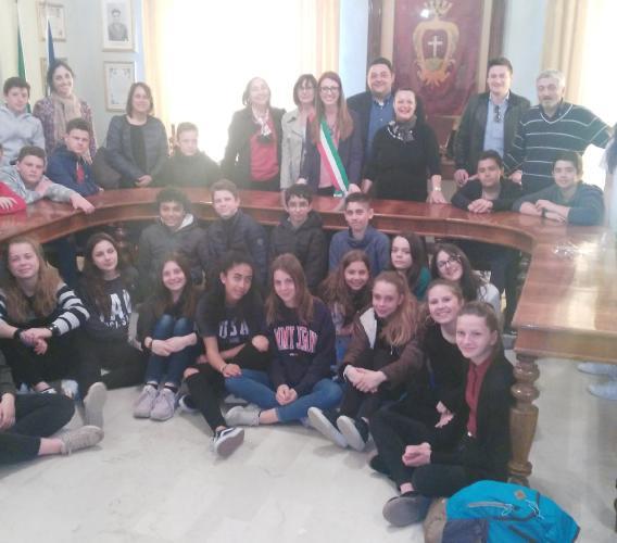 Potenza Picena, scambio scolastico con una scuola francese