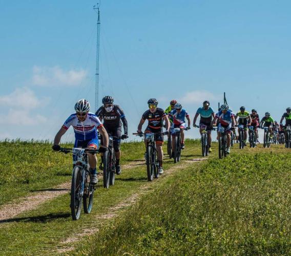 """Cingoli, al via la ventunesima edizione della Gran Fondo per Mountain Bike """"9 Fossi"""""""