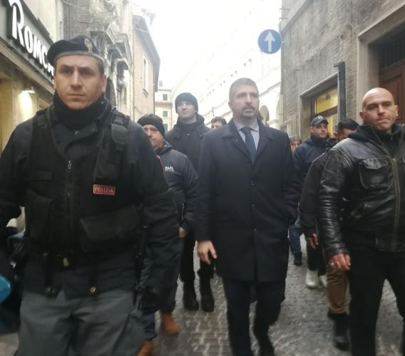"""Casapound Macerata: """"Antifa Macerata continua a seminare odio. Cosa ne pensa il Sindaco?"""""""