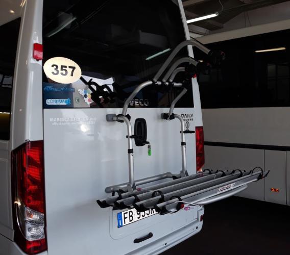Sull'autobus con la bicicletta: Contram lancia la sfida