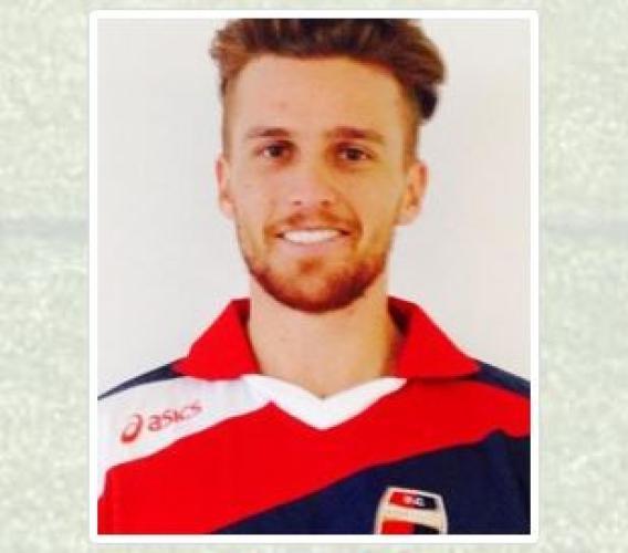 Il centrocampista Marco Bigoni è della Maceratese