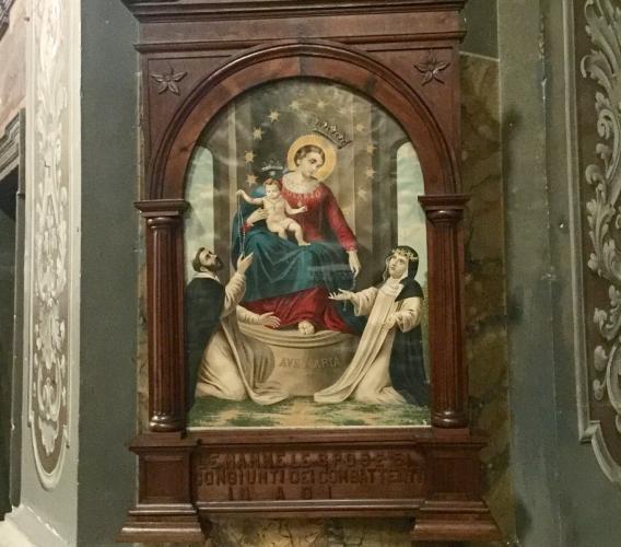 Montefano, la Madonna di Pompei torna nella Collegiata di San Donato