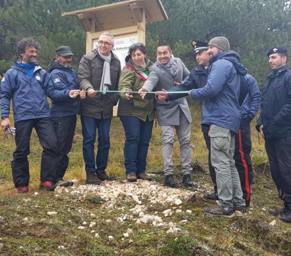 """Bolognola, inaugurato """"Verticale 1070"""": l'innovativo progetto realizzato dal Collegio Guide Alpine Italiane delle Marche"""