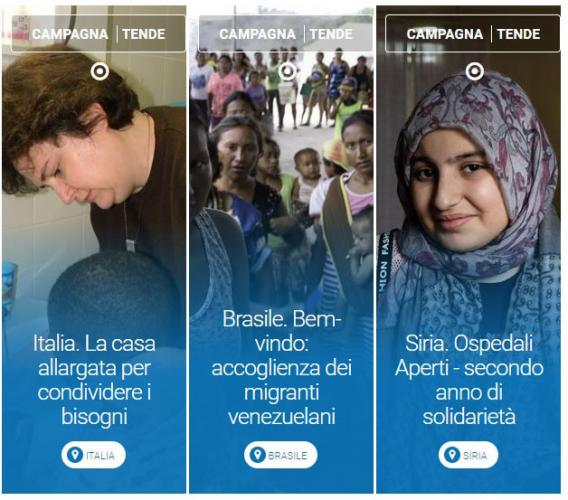 """Macerata, l'AVSI promuove la campagna di solidarietà """"Tende di Natale"""""""